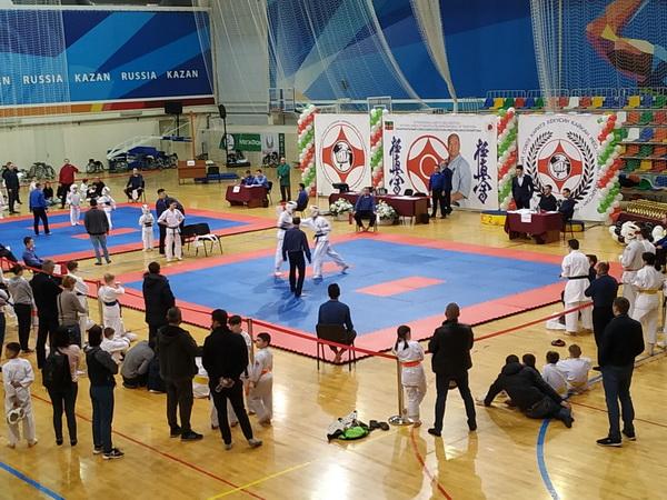 Чемпионате по каратэ Кекусинкай